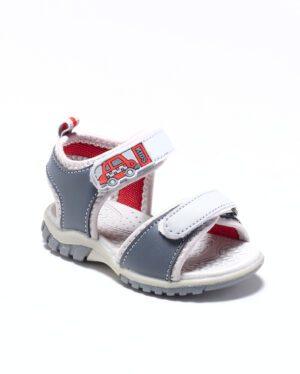 Sandales Bébé Garçon - Sandale Ouverte Gris Jina - Xdb0116