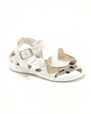 Sandales Bébé Fille - Sandale Ouverte Blanc Jina - Ydx0253-Jn2