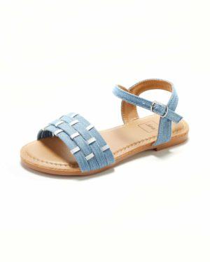 Sandales Fille - Sandale Ouverte Denim Jina - Saou Freewalk5 Jf