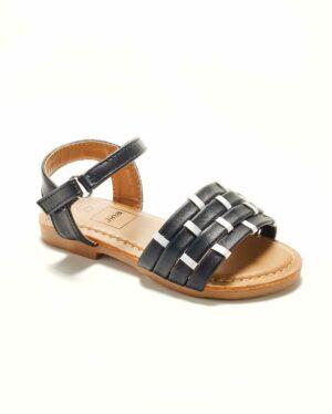 Sandales Fille - Sandale Ouverte Noir Jina - Saou Freewalk5