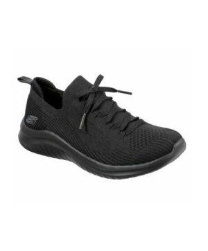Baskets Femme - Basket Noir Skechers - 13356 Ultra Flex 2.0