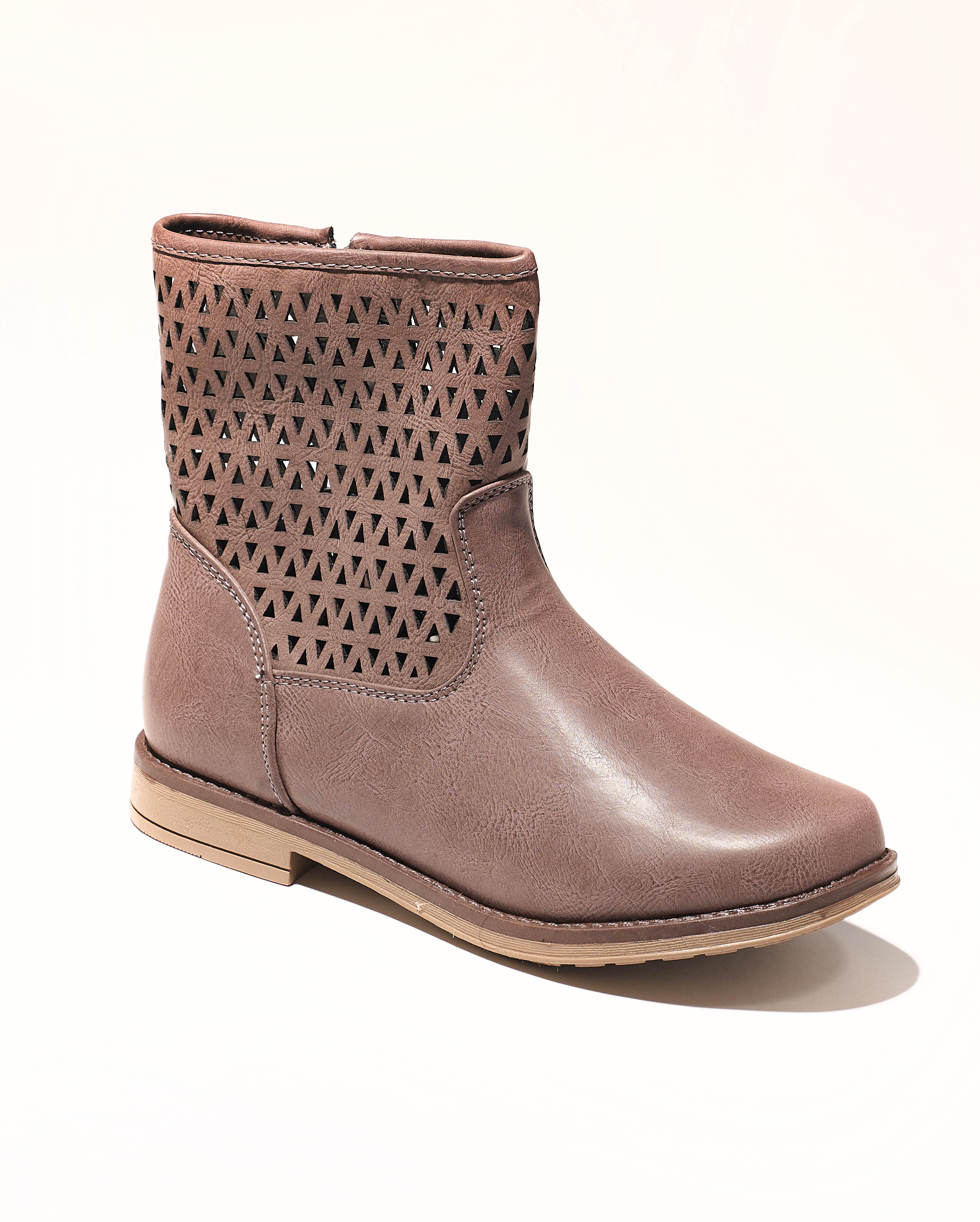 Boots Fille - Boots Gris Jina - Yb1813401