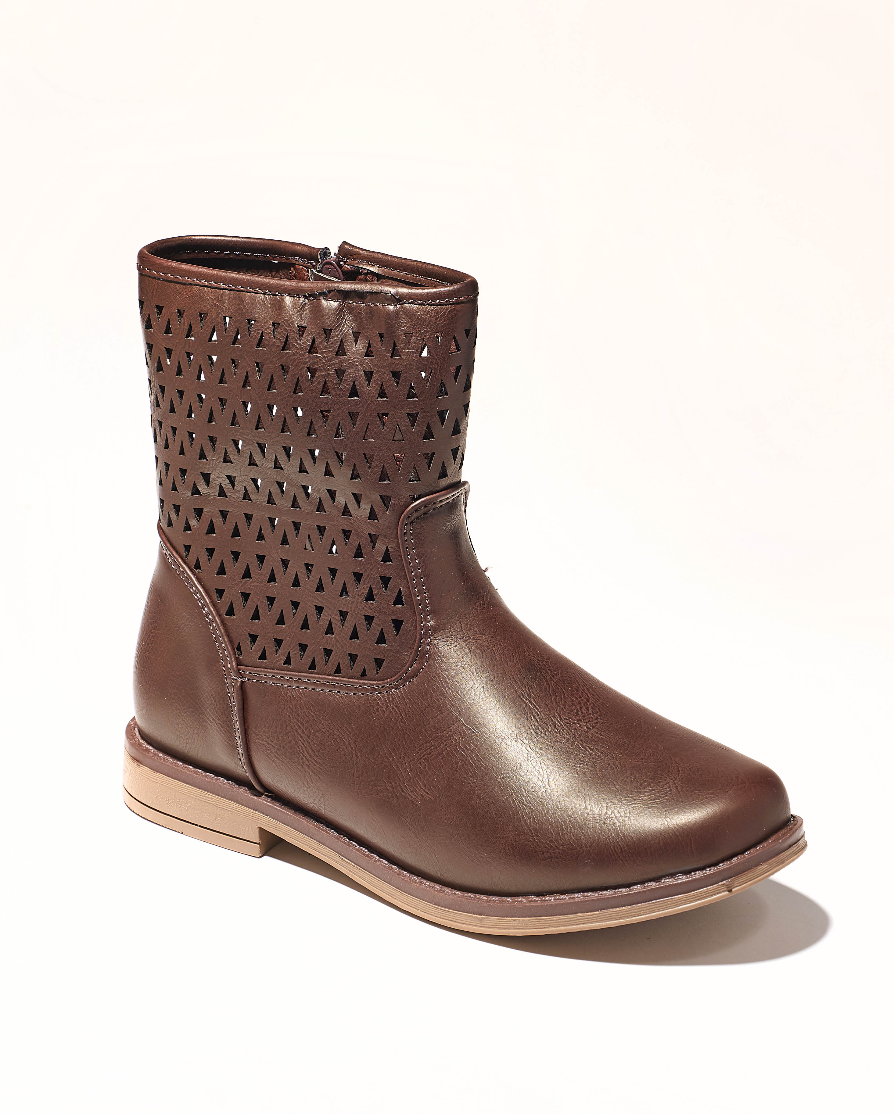 Boots Fille - Boots Marron Fonce Jina - Yb1813401