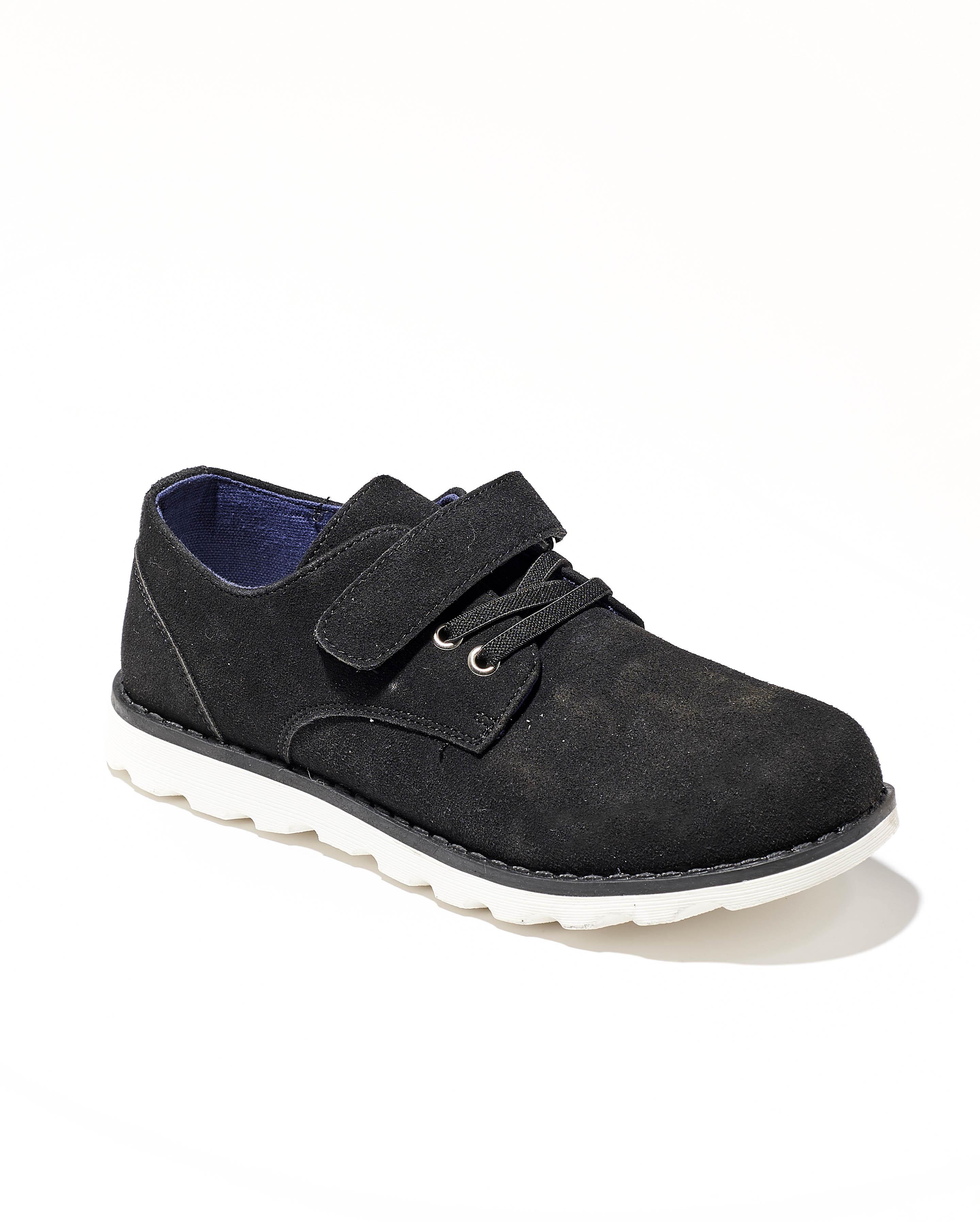Chaussures De Ville Garçon - Ville Noir Jina - Rl-Ky-01