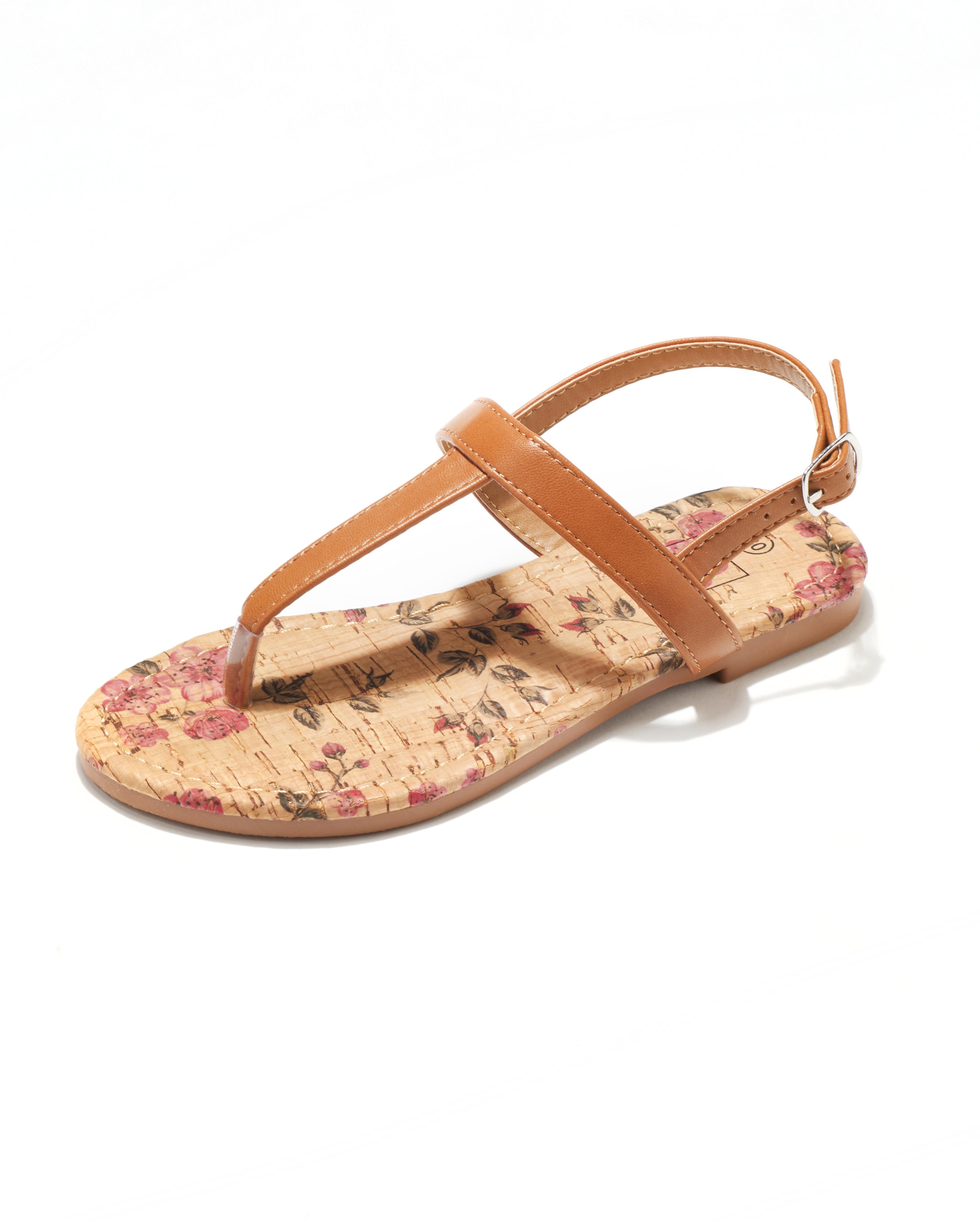 Sandales Fille - Sandale Ouverte Camel Jina - Saou Freewalk3 Jf