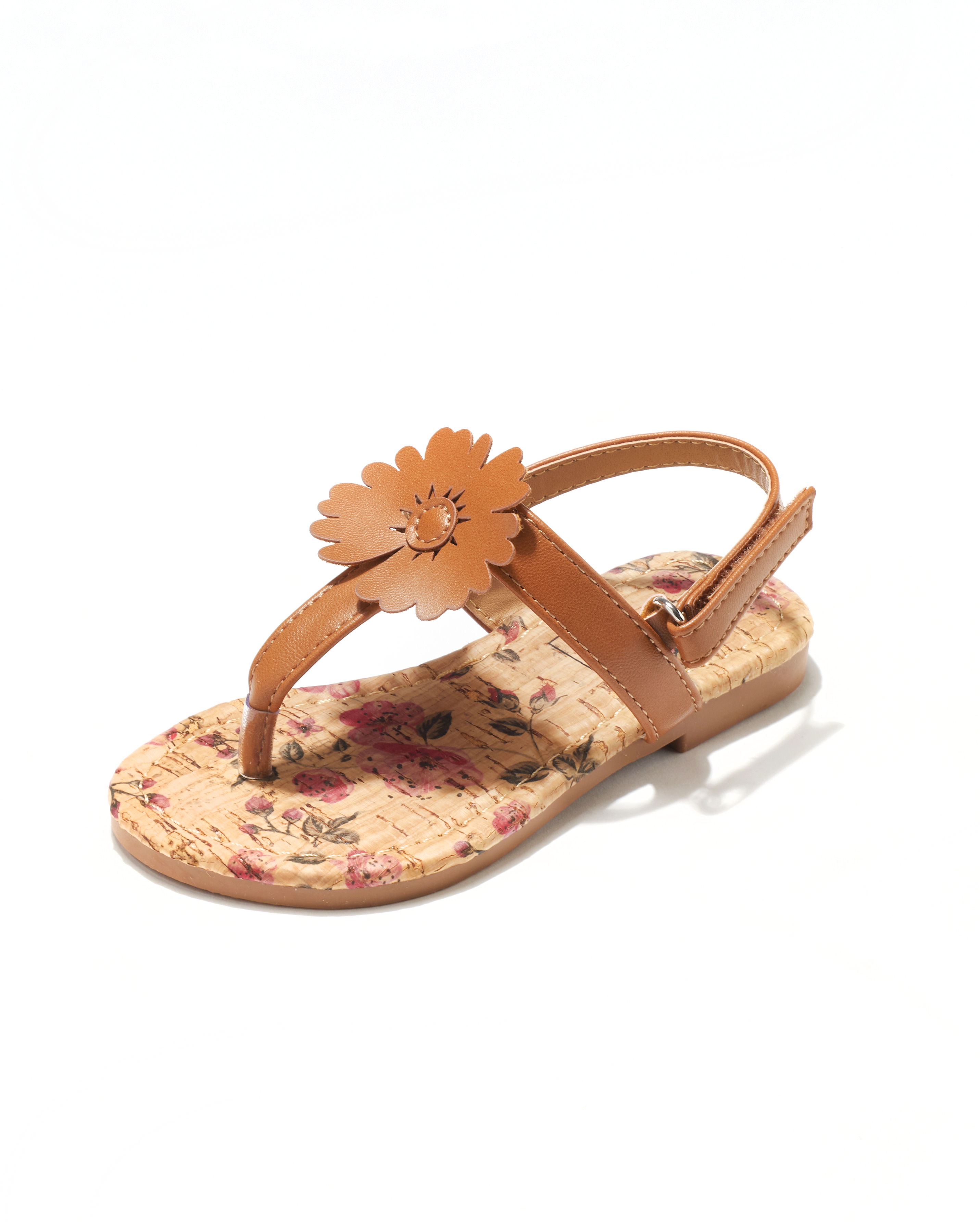 Sandales Fille - Sandale Ouverte Camel Jina - Saou Freewalk3