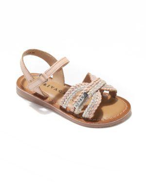 Sandales Fille - Sandale Ouverte Nude Jina - E-020974