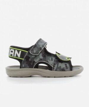 Sandales Garçon - Sandale Ouverte Gris Batman - Bm001730