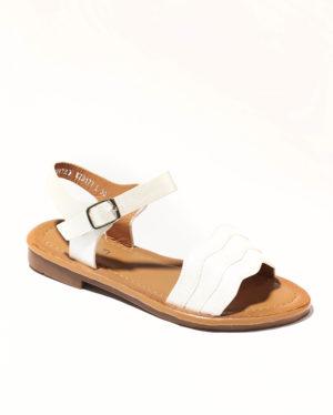 Sandales Fille - Sandale Ouverte Blanc Jina - Kid177l