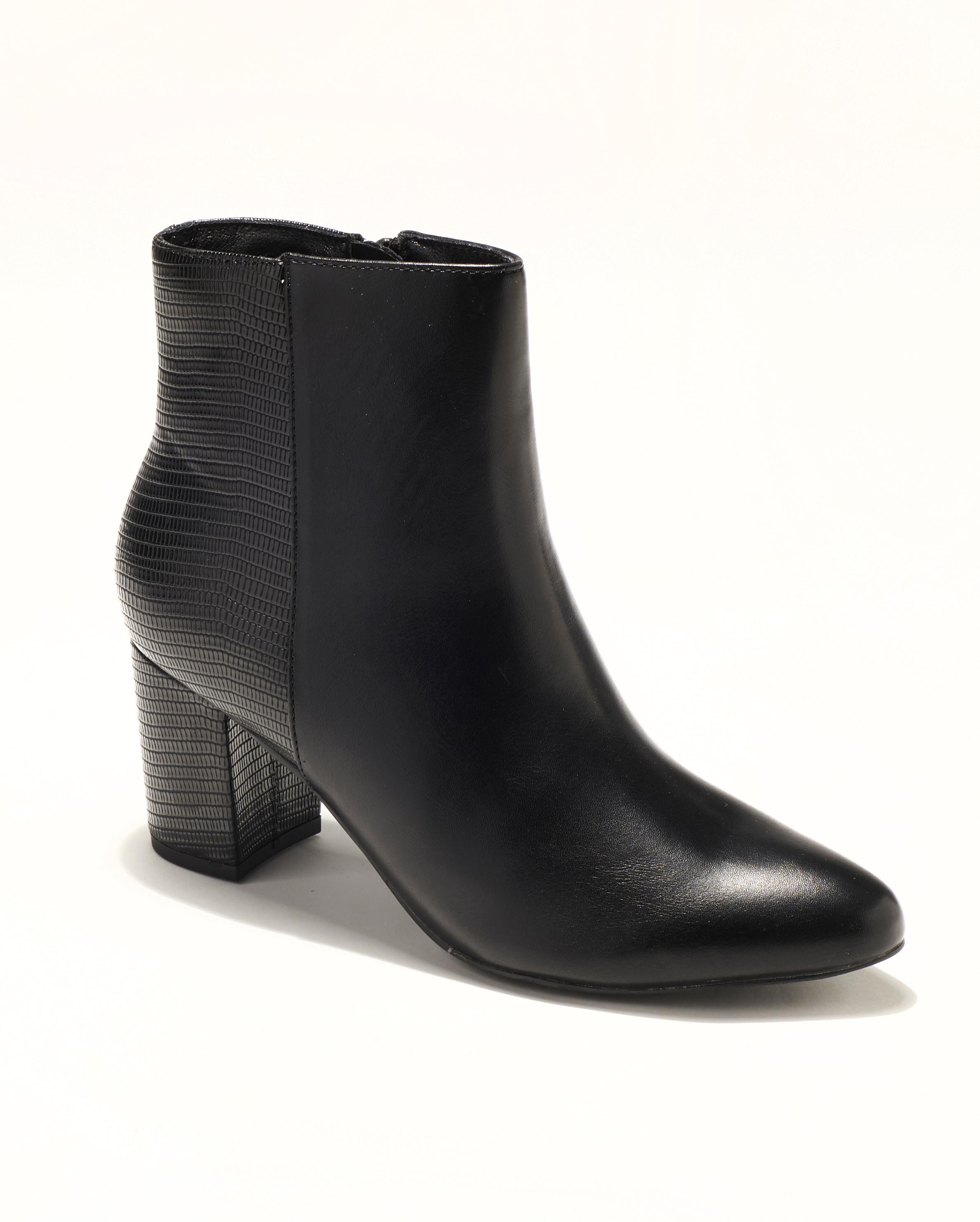 Boots Femme - Boots Noir Jina - Rv2776
