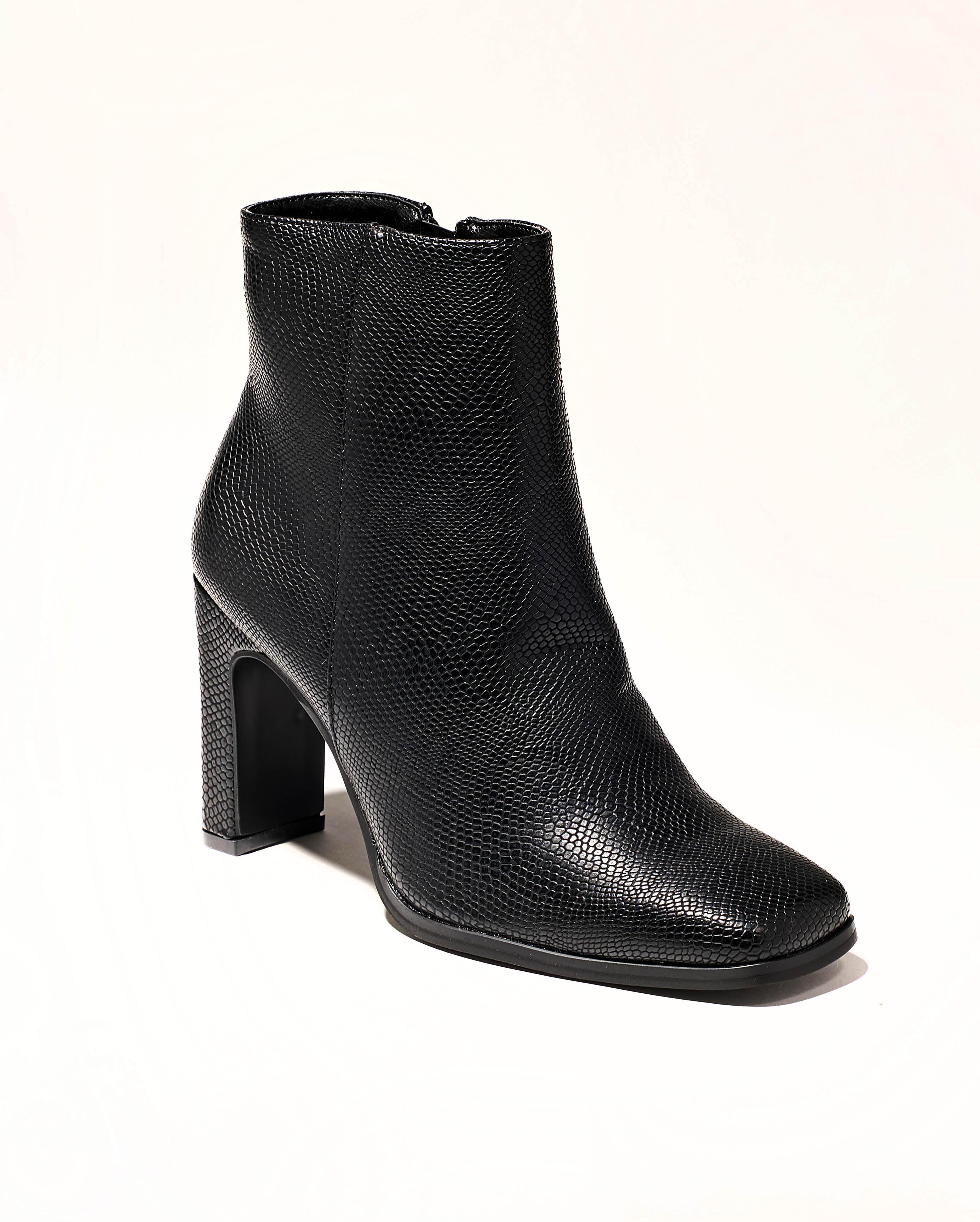 Boots Femme - Boots Noir Jina - 9377-2