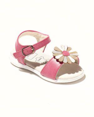 Sandales Bébé Fille - Sandale Ouverte Fuschia Jina - Saou Bb Doremi1