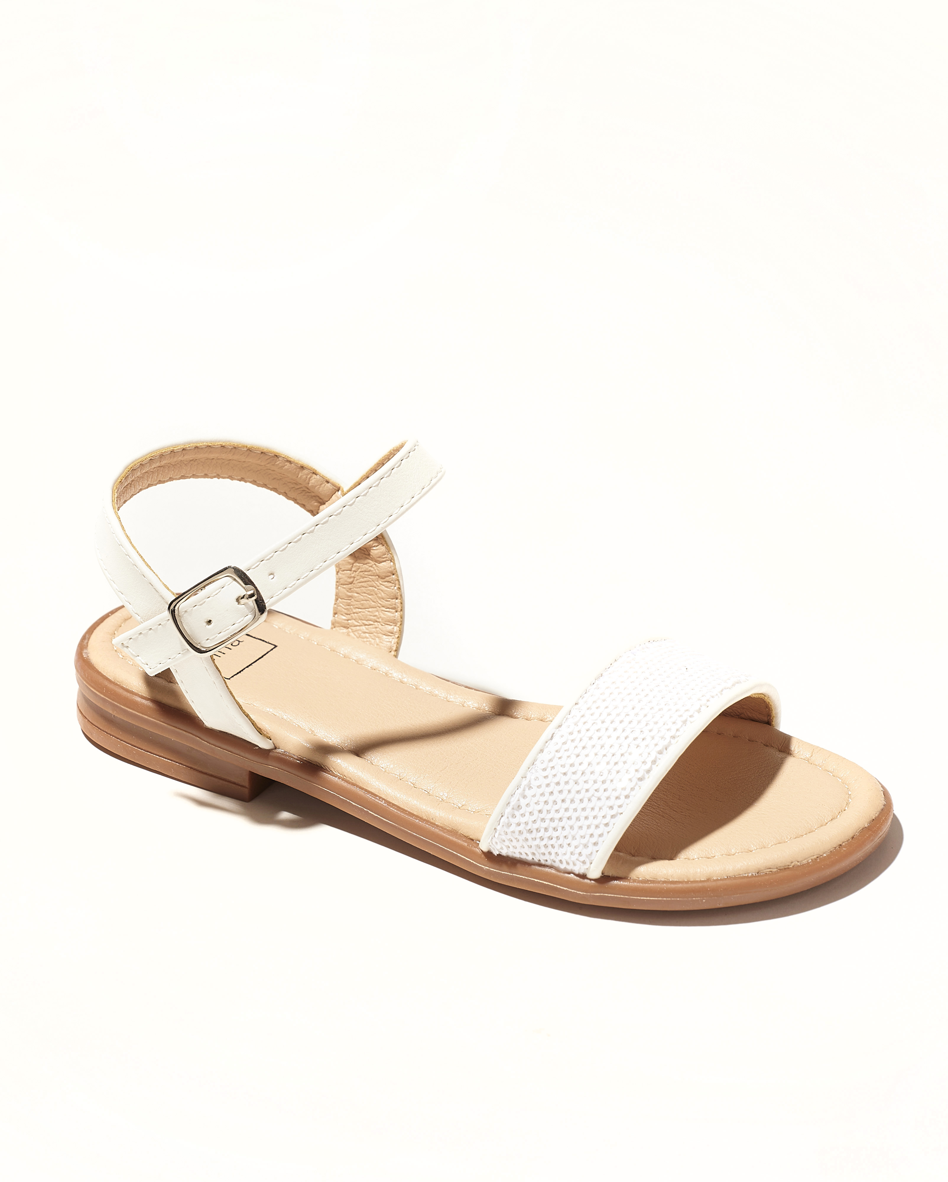 Sandales Fille - Sandale Ouverte Blanc Jina - Saou Doremi2 Jf