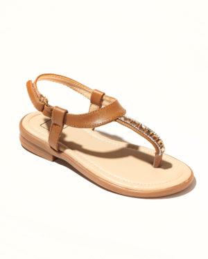 Sandales Fille - Sandale Ouverte Camel Jina - Saou Doremi3 Ef