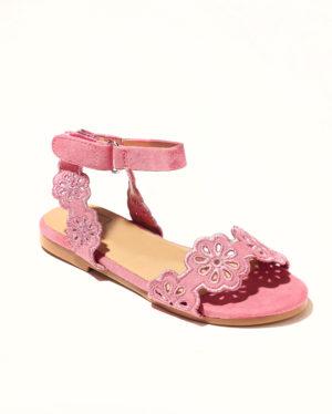 Sandales Fille - Sandale Ouverte Fuschia Jina - Saou Doremi2b Ef
