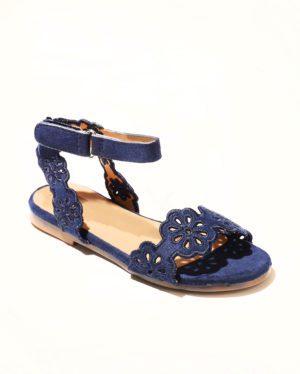 Sandales Fille - Sandale Ouverte Marine Jina - Saou Doremi2b Ef