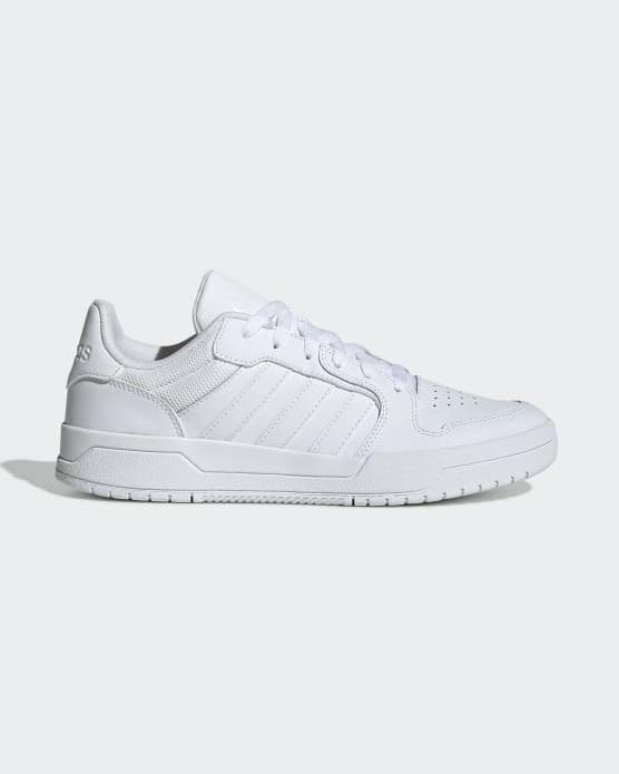 Baskets Homme - Basket Blanc Adidas - Eh1865 Entrap