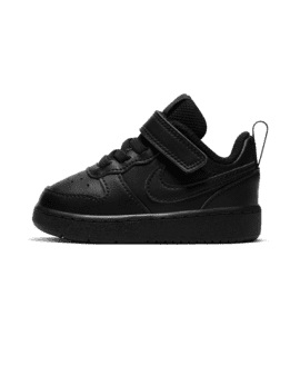Baskets Bébé Garçon - Basket Noir Nike - Bq5453 Nike Court Borough Low2
