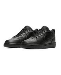 Baskets Garçon - Basket Noir Nike - Bq5448 Nike Court Borough Low2