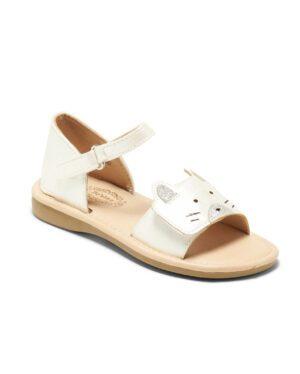 Sandales Fille - Sandale Ouverte Blanc Jina - Ydx701x-1