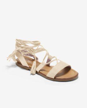 Sandales Plates Femme - Sandale Plate Nude Jina - Sp2435