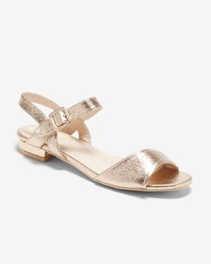 Sandales Plates Femme - Sandale Plate Champagne Jina - Ve806