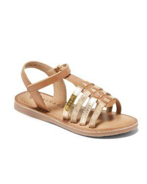 Sandales Fille - Sandale Ouverte Camel Jina - E-020976