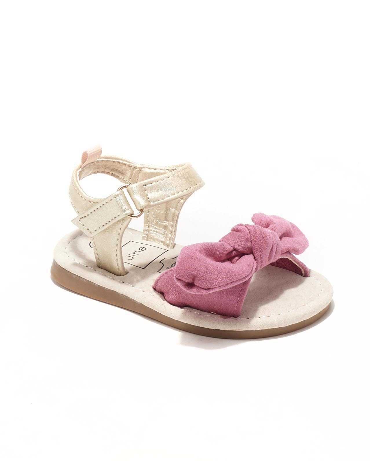 Sandales Bébé Fille - Sandale Ouverte Fuschia Jina - Chickita Baby Style