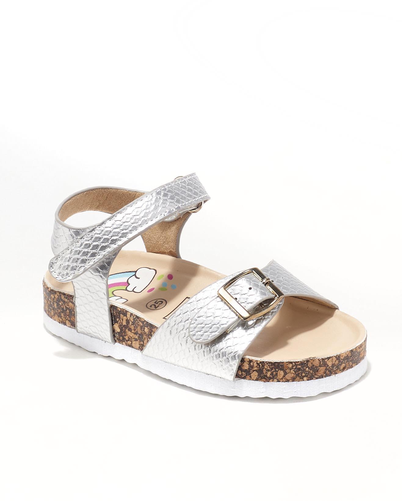 Sandales Fille - Sandale Ouverte Argent Jina - Ct00010
