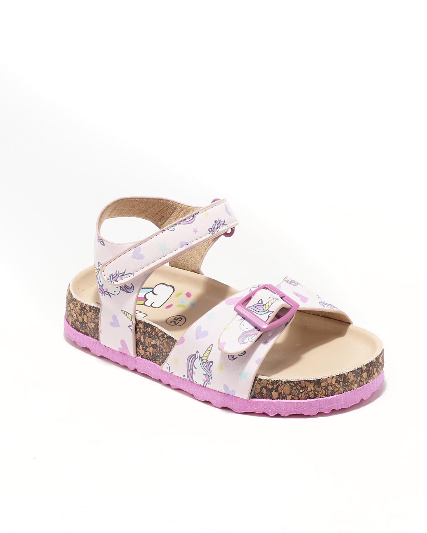 Sandales Fille - Sandale Ouverte Rose Jina - Ct00010
