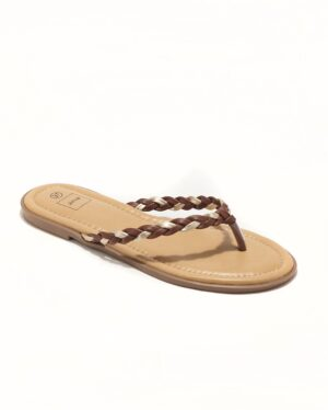 Mules Femme - Mule Plate Camel Or Jina - Style 5 Zh P06