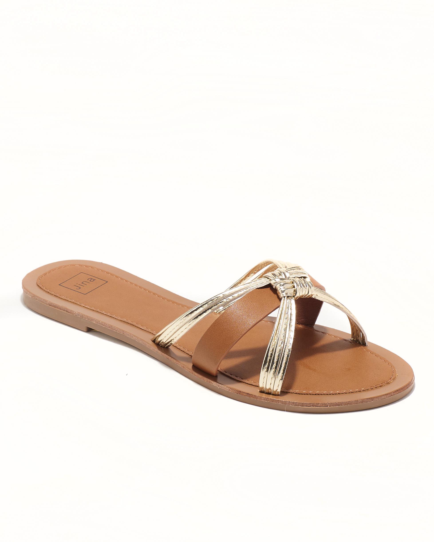 Mules Femme - Mule Plate Camel Jina - Fs072651