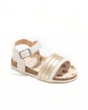 Sandales Bébé Fille - Sandale Ouverte Creme Jina - Ydxhx30ai-2 Bis
