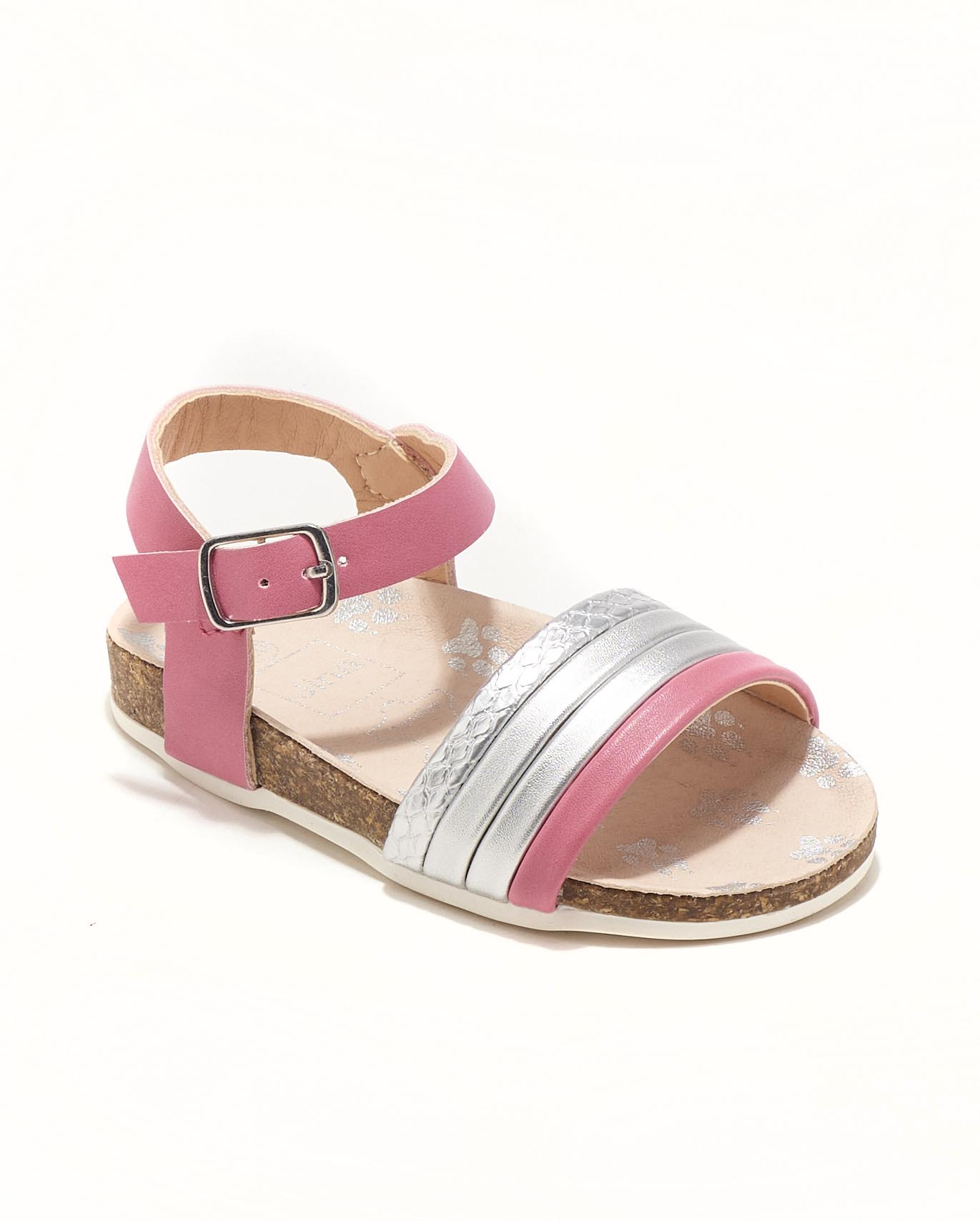 Sandales Bébé Fille - Sandale Ouverte Fuschia Jina - Ydxhx30ai-2 Bis