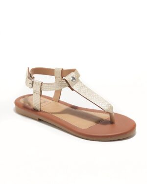 Sandales Fille - Sandale Ouverte Or Jina - Ydxls23j-3 Jf