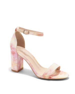 Sandales À Talons Femme - Sandale Talon Decrochee Tie Dye Jina - P6398