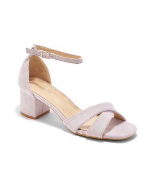Sandales À Talons Femme - Sandale Talon Decrochee Lavande Jina - 8832