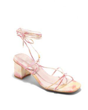 Sandales À Talons Femme - Sandale Talon Decrochee Tie Dye Jina - 6737