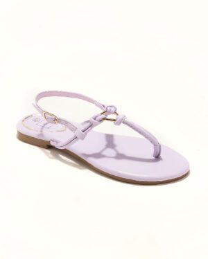 Sandales Plates Femme - Sandale Plate Lavande Jina - P11 Zh Style 8